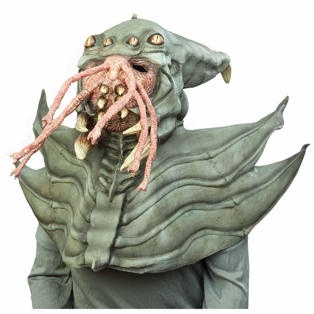 Máscaras De Nightmare Collection: Amphibious Alien - Ghoulish Productions MXLogo-white